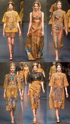 Dolce&Gabbana Fall 2013 Collection | Tom + Lorenzo