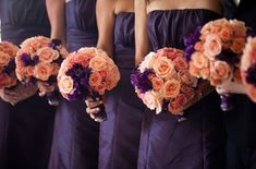 that's a nice idea, especially since i want my wedding colors to be orange and purple.