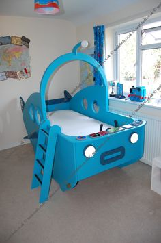 My son's dream.  An Octonauts Gup A Bed.
