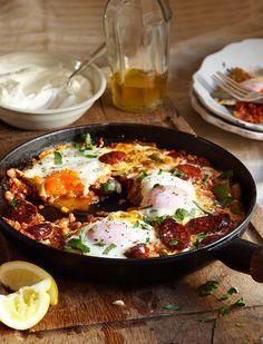 Spicy Spanish Eggs   sheerluxe.com