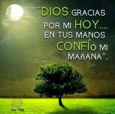 Dios gracias..Buenas noches... Gracias Dios por todo