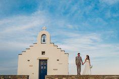 Fresh and organic beach wedding in Paros | Sabine & Marek - I Wish Chic Events