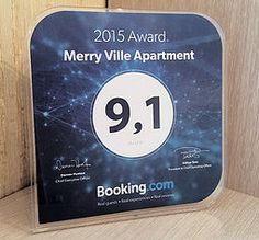 Высокая оценка от Booking.com