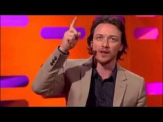The Graham Norton Show - S09E08 - James McAvoy, Jack Dee and Liza Minnelli. <---@17:11 the story of him hide and go seek, except he told his sister he died and she's talking to his spirit, lol.