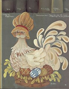 Folk Art Primer - Ana Pintura 2 - Álbumes web de Picasa Jo Sonja Pattern