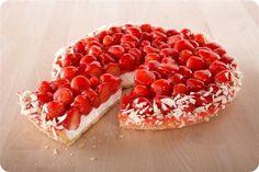 Aardbeien vlaai | Taarten-maken.jouwweb.nl