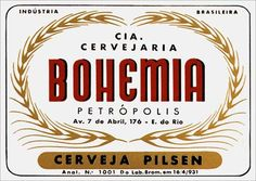 Cervejaria Bohemia - Cerveja Pilsen (Petropolis/RJ)