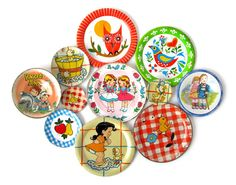 I collect tiny plates and I want that bird one and the owl one....I have the bird on the checkerboard