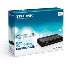 Switch TP-LINK 16 puertos 10/100 TL-SF1016D #tecnologia #ofertas #ordenadores #tablet Visita http://www.blogtecnologia.es/producto/switch-tp-link-16-puertos-10100-tl-sf1016d