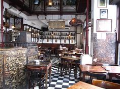 Oh man what a cool place! Bar Dorrego, Buenos Aires
