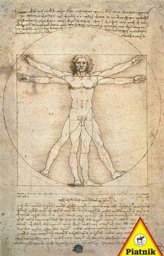 Leonardo da Vinci - Truvian Man 1000pc Jigsaw Puzzle by Piatnik