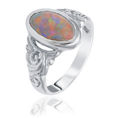 Coloured Gem Rings Engagement Rings Australia, Opal Rings, Gemstone Rings, Australian Black Opal, Diamond Rings For Sale, Vintage Style Rings, Dress Rings, Yellow Gold Rings, Diamond Cuts