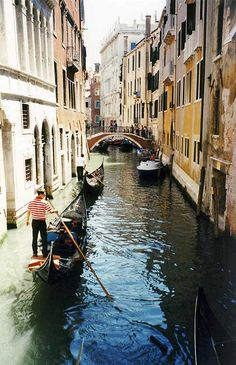 Backpack through Europe- don't forget Venice, it's sinking