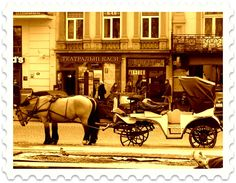 The cartage, Lviv, Ukraine.