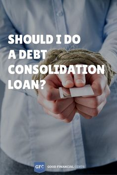 Should I do a debt consolidation loan? By consolidating multiple debts and outstanding balances into a new loan product, you can rid yourself of the need to make several payments each month, simplify your life, and even lower your monthly-out-of-pocket expense.