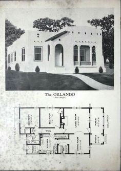 Homes of Brick and Stucco by Standard Homes Company Published 1929