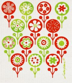 scandinavian pattern - would be neat for an applique quilt - maybe in a different colorway