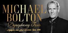 Symphony Tour Australia & New Zealand 2018. Sydney, Melbourne, Gold Coast, Perth and Auckland NZ.