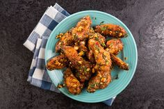 Pok pok hot wings / Photo by Chelsea Kyle, food styling by Katherine Sacks