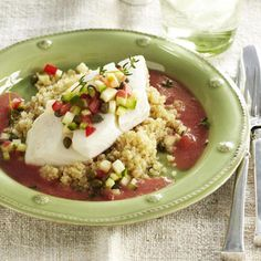 Oven-Steamed Halibut - GoodHousekeeping.com