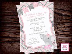 PINK ELEPHANT TUTU Elephant TuTu Baby by BlissfulBethDesigns