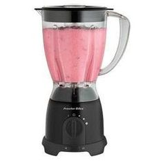 From Proctor Silex & this blender features Stainless Steel blades& 8 speeds and 375 Watts of power. The large 48 oz. Jar is dishwasher safe and flips over for space saving storage. Transition from 58131 Ninja Professional Blender, Top Blenders, Space Saving Kitchen, Juicer Machine, Drink Mixer, Hand Blender, Specialty Appliances, Frozen Drinks, Kitchen Gadgets
