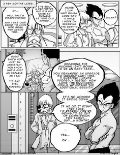Dbz: Bulma and Vegeta -Firstkiss: Chapter 1, Pg9 by longlovevegeta on DeviantArt