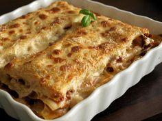 Lasagnes cuites entières