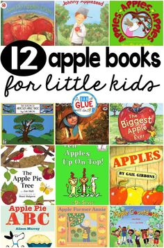 Every single year I always do a week filled with hands-on apple activities. During this time I always incorporate apple books into math, science, social studies, and carpet time. Here are my favorite apple books.