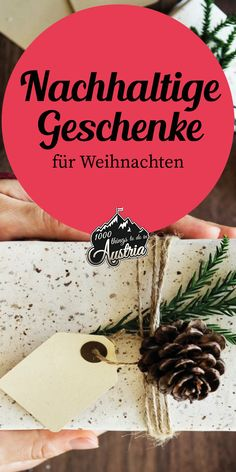 Mit diesen grünen Geschenken punktest du zu Weihnachten. Vienna, Fruit, Christmas, Meaningful Gifts, Sustainable Gifts, Winter Vacations, Diy Christmas Tree, Xmas Lights, Cool Ideas