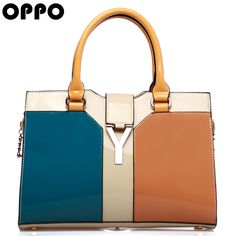 oppo   bags ol fashion brief fashion vintage color block women's handbag cross body handbag 2013 from Reliable men shoulder bag suppliers on Feline Fan's store.