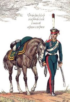 Russia Horse Artillery of Guard 1814