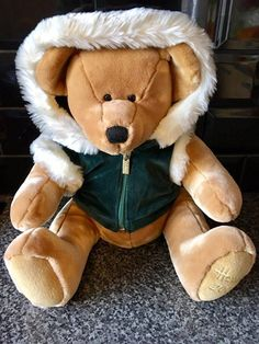 Lovely #Harrods London Large #christmas Teddy Bear Year 2001 Collectable Soft #plush  Toy, Gallery