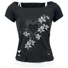 Spiral  T-Shirt  »Pure Of Heart« | Jetzt bei EMP kaufen | Mehr Rockwear  T-Shirts  online verfügbar ✓ Unschlagbar günstig!