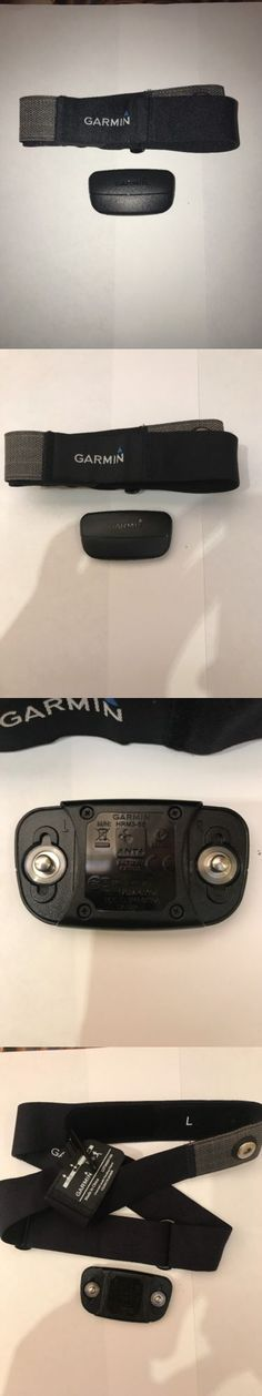 Heart Rate Monitors 15277: Garmin Soft Strap Heart Rate Monitor Chest Transmitter Set - Newest Version Hrm3 -> BUY IT NOW ONLY: $45 on eBay!
