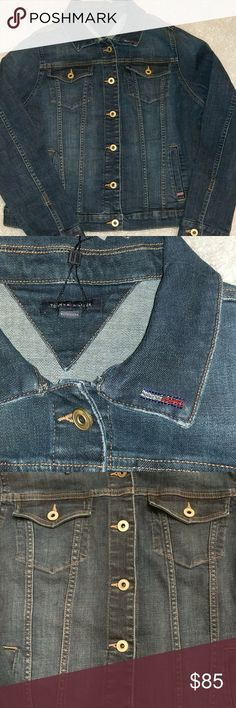 Tommy Hilfiger Jean Jacket Embellished Star Brand New with Tags. Tommy Hilfiger Jackets & Coats Jean Jackets