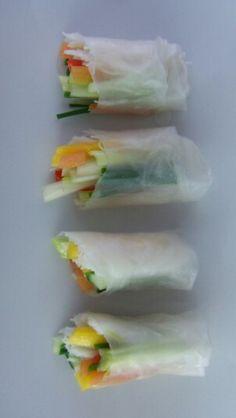 Canapés Canapes, Fresh Rolls, Ethnic Recipes, Food, Essen, Meals, Yemek, Eten, Finger Food