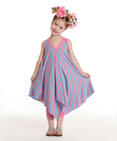 This Rosebloom Taya Dress - Toddler & Girls by Wonderland by Kidcuteture is perfect! #zulilyfinds