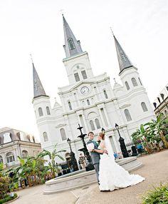 Jackson Square New Orleans Wedding