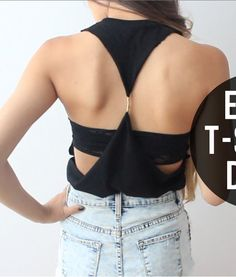 Backless Top | 41 Insanely Easy Ways To Transform Your Shirts For Summer