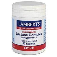 Lamberts Lactase Complex 200mg - 60 Tabs