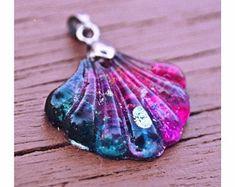 Cad Free, Sea Shells, Bracelets, Resin, Tie Dye, Craft Art, Pendant Necklace, Pink Turquoise, Drop Earrings