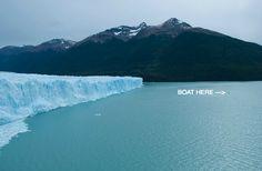 Behold Perito Moreno Glacier. When Nature just makes you go WOOOOWW!... #Argentina