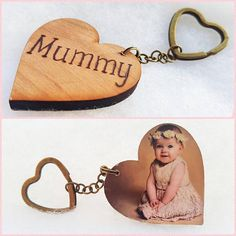 Personalised Wood Keyring Pyrography Dad Mum Shed Garage Caravan Own Name //Word