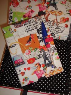 Caixa + caderneta