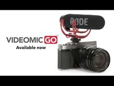 Meet the VideoMic GO, our new lightweight on-camera microphone for clear, directional audio on the GO! No matter what your filming, the VideoMic GO will give. Nikon Dslr Camera, Camera Gear, Point And Shoot Camera, Photography Gear, Ipad, Videography, Rodeo, Iphone, Digital Slr