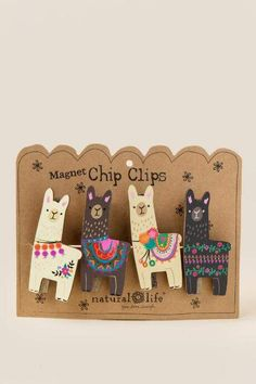 Llama Chip Clip Set #affiliate