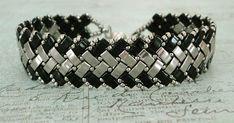 """15/0 seed beads Toho """"Nickel Plated"""" (711)  11/0 seed beads Toho """"Nickel Plated"""" (711)  8/0 seed beads Toho """"Nickel Plated"""" (711)  Half T..."""