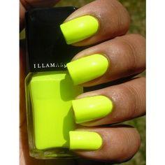 Neon-Nails.jpg (492×640) ❤ liked on Polyvore featuring nails, beauty, nail polish, makeup e nail art
