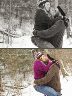 DPage Photography Couples winter session  Ohio